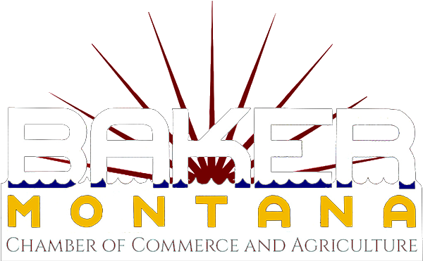 Baker Montana chamber of commerce and agriculture logo